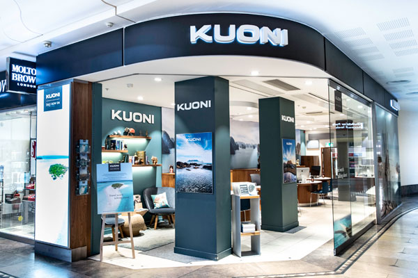 Kuoni to open six stores on April 12