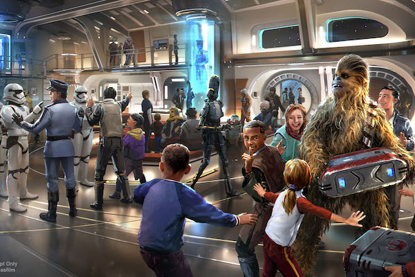 Disney reveals images of new Star Wars hotel