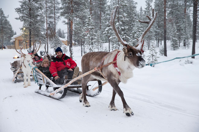 Win 1 of 4 incredible holidays thanks to Inghams, Explore and Santa's Lapland!