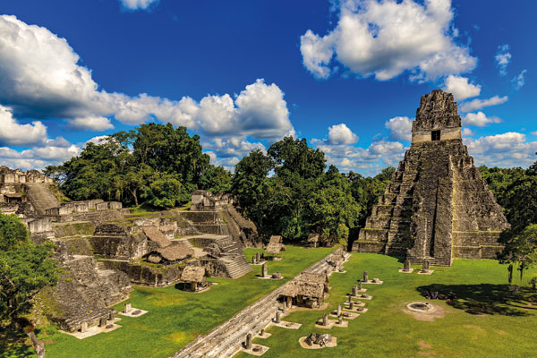 Discover ancient ruins and unspoilt jungle in Belize and Guatemala