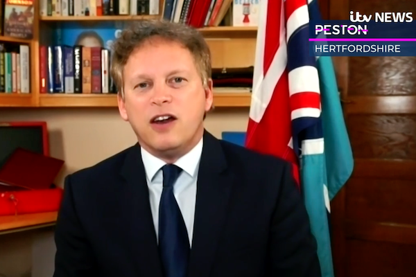 Shapps warns travel resumption depends on factors 'not in our control'