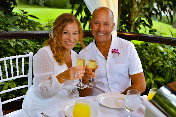 We fell in love at Sandals Saint Lucia – 25 years later, we went back to tie the knot again