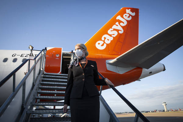 Covid cover features in new travel insurance for easyJet passengers