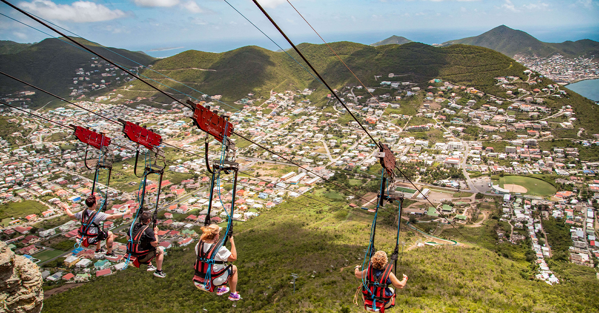 What to see on a Sint Maarten cruise call
