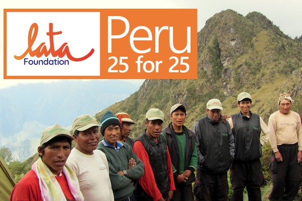 Lata Foundation launches campaign to support Peruvian porters