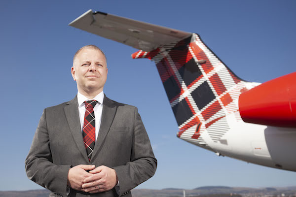 Loganair to introduce £1 'GreenSkies' ticket levy