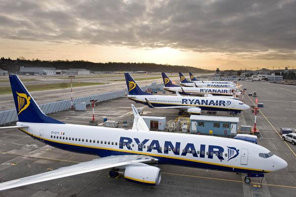 Ryanair processes 'unprecedented' backlog of Covid disruption refunds