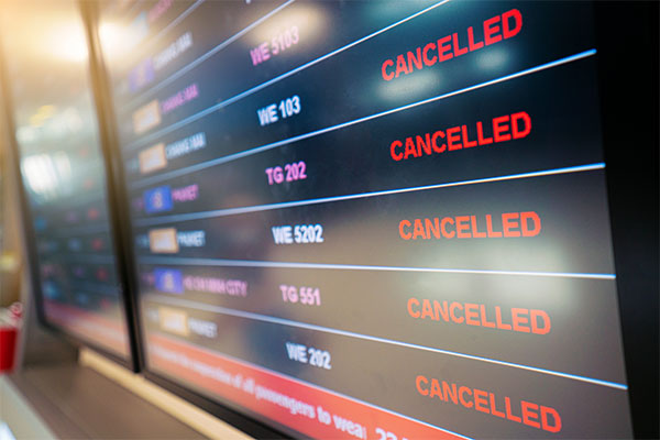 Flight consolidator folds amid travel recovery uncertainty