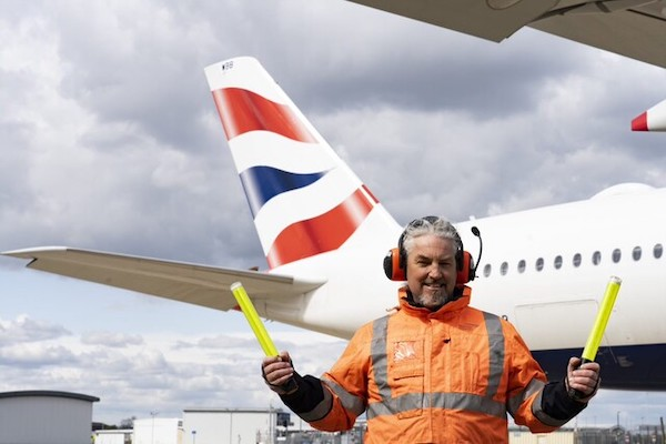 British Airways' staff star in airline's new TV ad