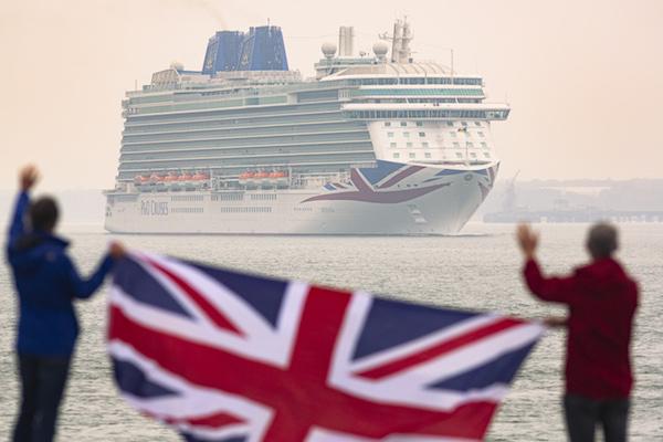 P&O Cruises and Saga ships return to service