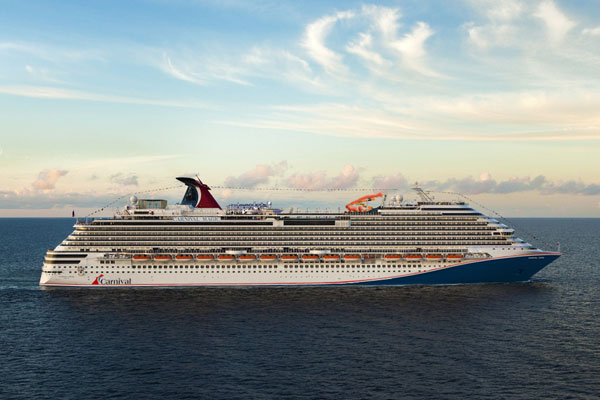 Carnival Cruise Line to update hull design for all ships