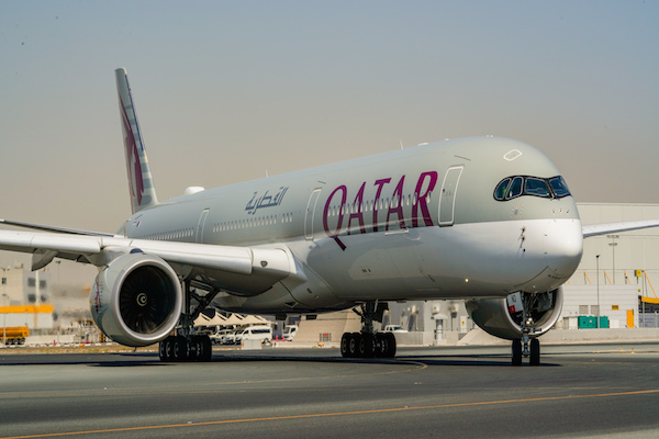 Qatar Airways claims fully vaccinated flight first