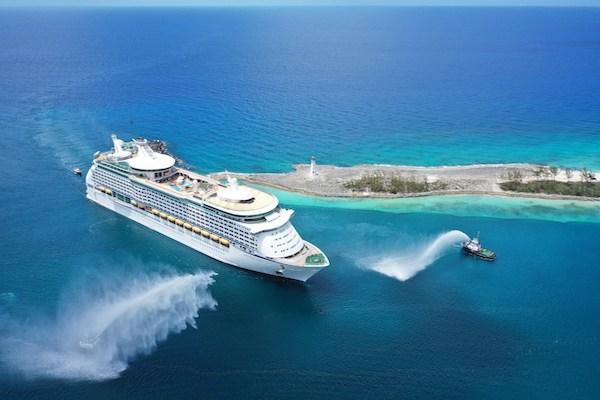 Royal Caribbean makes 'milestone' return to Bahamas