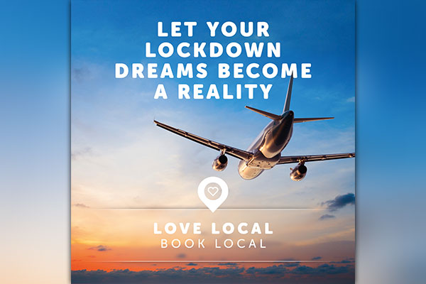 The Travel Network Group urges customers to 'Love Local, Book Local'