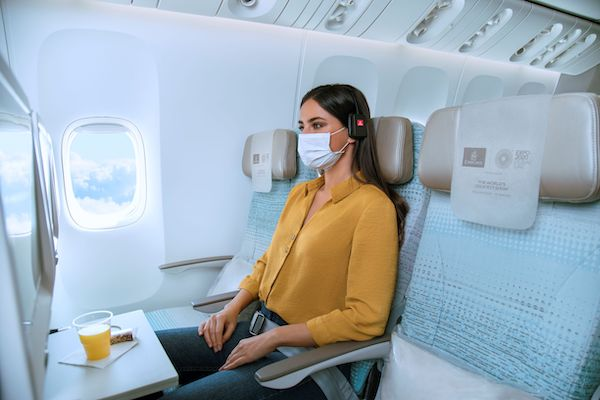 Emirates passengers can pay for empty adjoining seats