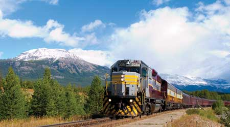 Canada: Rail tours of the Canadian West
