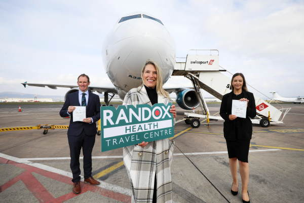 Belfast City airport opens Covid-19 test centre