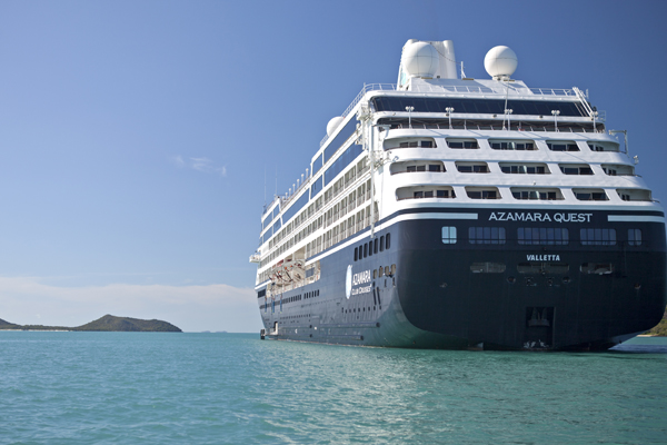 Azamara opens bookings for cruise return