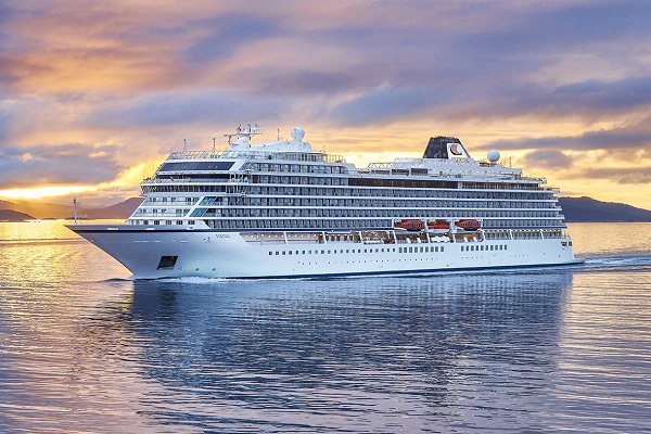 Viking Cruises takes delivery of latest ocean ship