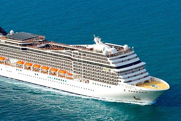 MSC Cruises to base ships in Saudi Arabia this winter