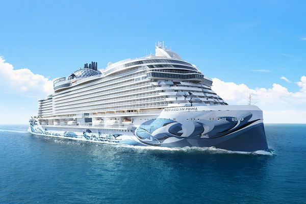 NCL unveils details of first Prima-class ship
