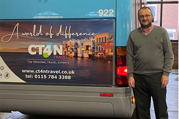 Your Stories: Chris Wouldhave set up a travel agency to help support local charity