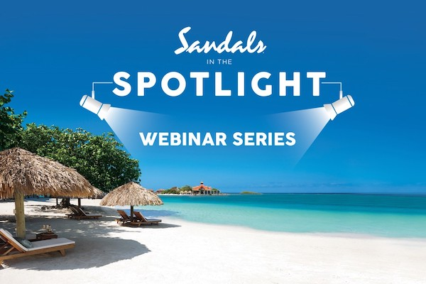 Sandals and Beaches Resorts to run webinars for agents