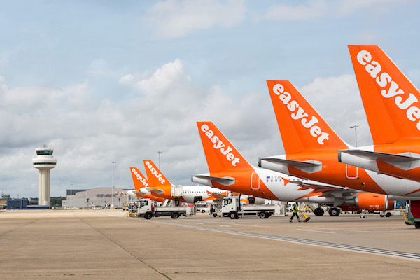 EasyJet hikes capacity to green list destinations