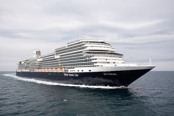 New Holland America Line ship completes sea trials