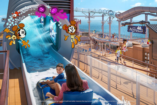 Disney Wish cruise ship to feature water ride attraction