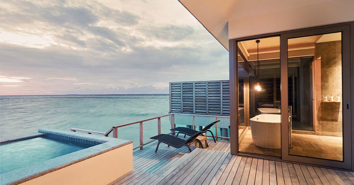 Five top honeymoon spots in the Maldives