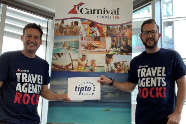 Carnival Cruise Line to rejoin Tipto