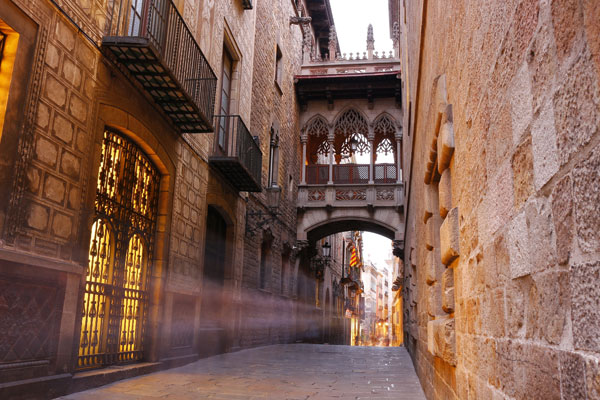 Exploring Barcelona's neighbourhoods