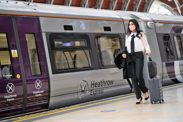 Heathrow Express rolls out revamped trains