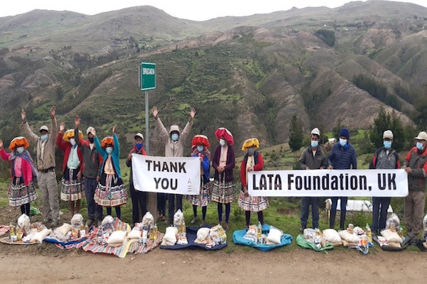 LATA campaign raises £17,000 for Peruvian porters hit by pandemic