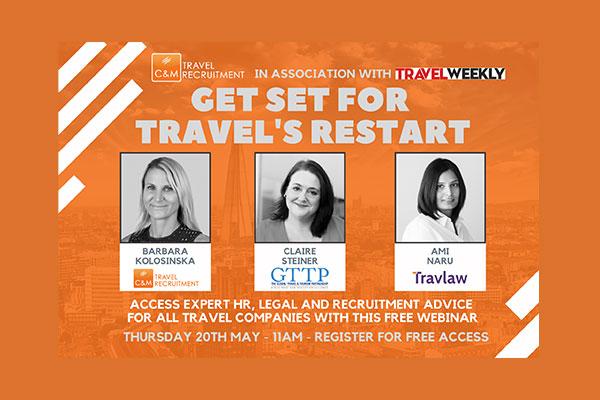 C&M Travel Recruitment to host reopening webinar