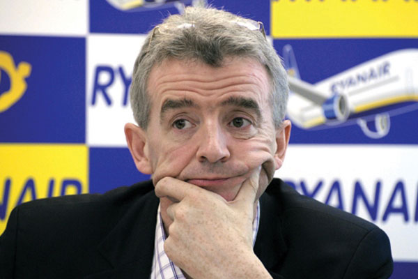 O'Leary concedes OTAs book 20% of Ryanair flights