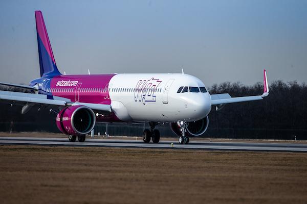 Wizz Air annual carryings slump 75%
