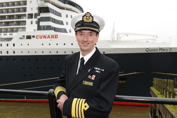 Veteran Cunard captain gains Commodore status on retirement