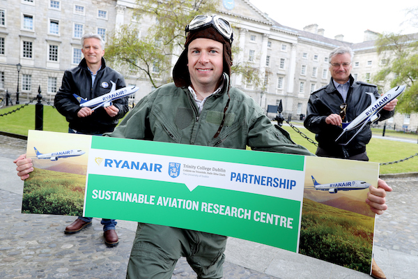 Ryanair donates €1.5m to sustainable aviation project