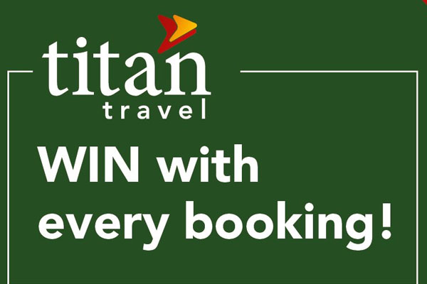 WIN a £4,000 Titan holiday voucher!