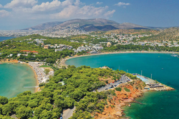 Discover the glamour of the Athenian Riviera, Greece