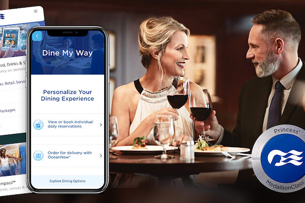 Princess Cruises serves up new contactless dining feature