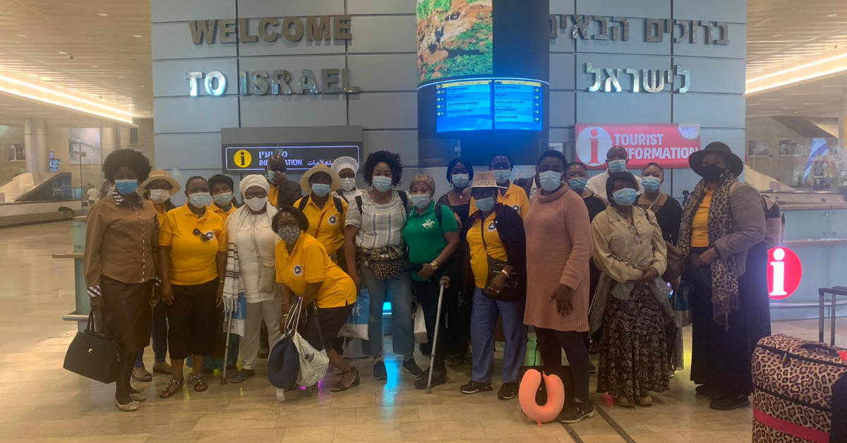 First post-Covid tour group from UK arrives in Israel | Travel Weekly