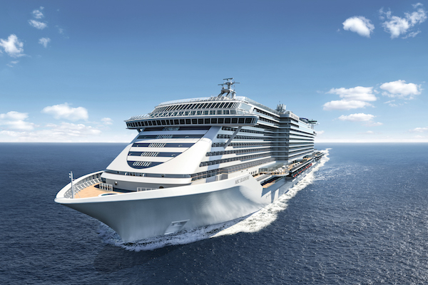 Two-thirds of new MSC flagship 're-imagined'