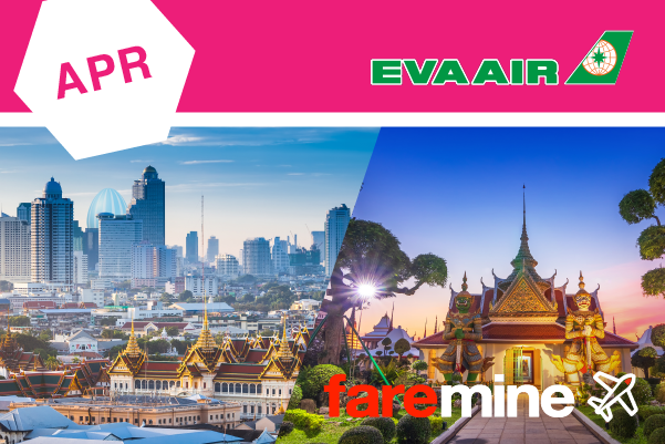 Global Egg Hunt with Faremine & EVA Air