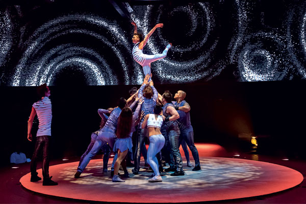 Behind the scenes with Cirque du Soleil on board MSC Bellissima