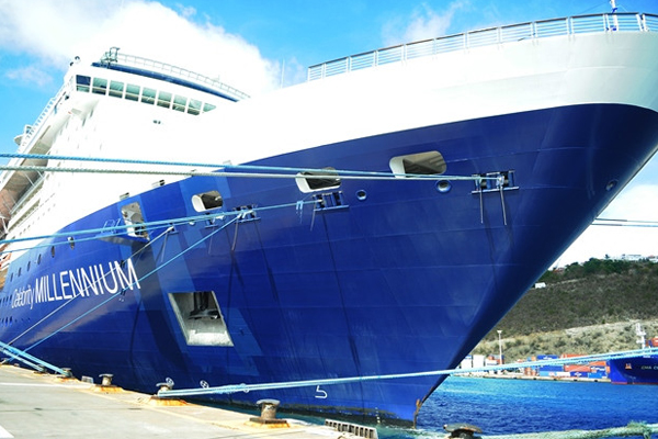 Two Caribbean cruise passengers test positive for Covid