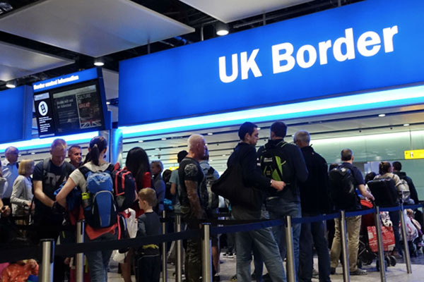 UK Border Force reported to be suffering 'nationwide IT issue' | Travel Weekly