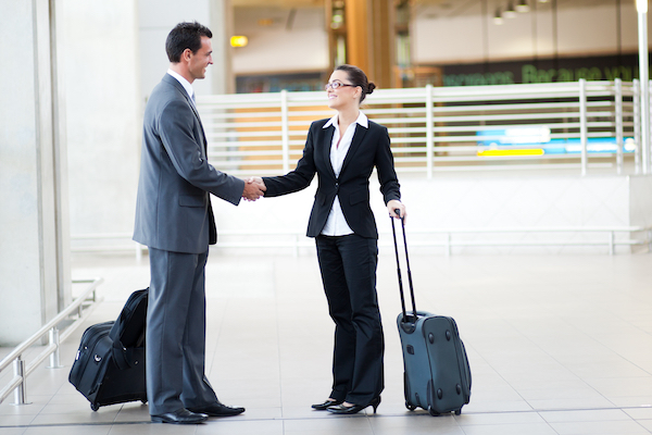 Business travellers keen to get back on the road